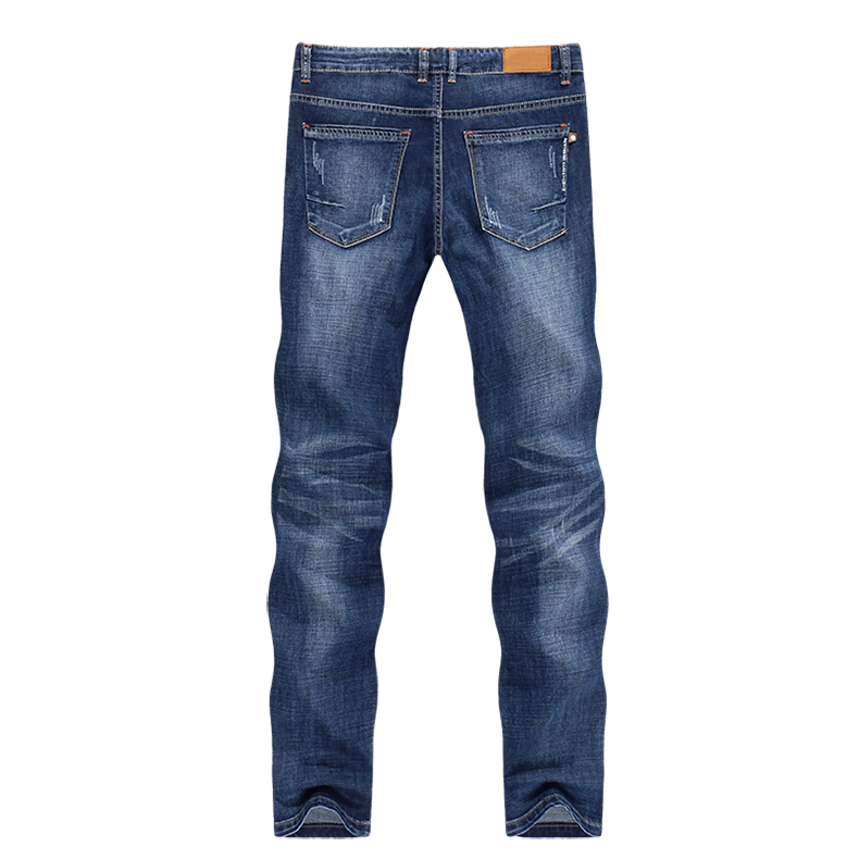 KSTUN Jeans Men Summer 2020 Thin Blue Slim Straight Denim Pants Casual Fashion Men's Trousers Full Length Cowboys Man Homme Jean 12