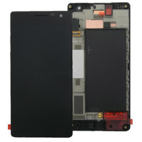 High Quality LCD Display Touch Screen Digitizer Assembly Frame For Nokia Lumia 730 735 Free Shipping