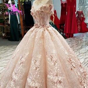 Image 5 - AIJINGYU suknie ślubne sklep internetowy kup suknie ślubne 2021 2020 sklep muzułmanin matka suknia ślubna biała sukienka balowa