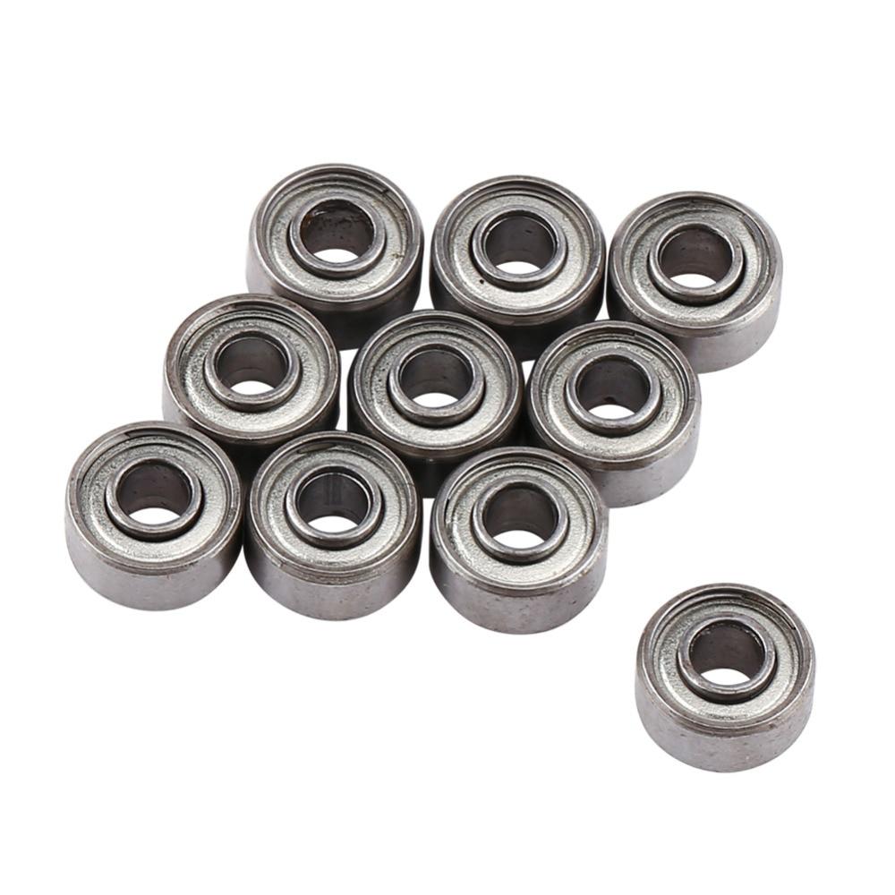 10pcs/Lot 693ZZ Miniature Ball Bearings 3*8*4mm Small Double Shielded Miniature Metal Steel Bearing 10pcs lot 688zz miniature ball bearings metal double shielded miniature metal steel bearing 8x16x5mm