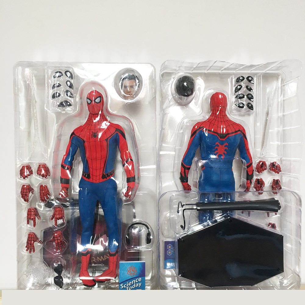12 pouces HC Marvel Avengers Spiderman héros BJD articulations figurine mobile modèle jouet cadeau pour les enfants