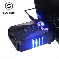 CoolCold Ice Magic 5 Universal Performance Suction Type Portable USB Laptop Notebook Fan Turbo Radiator Ultra