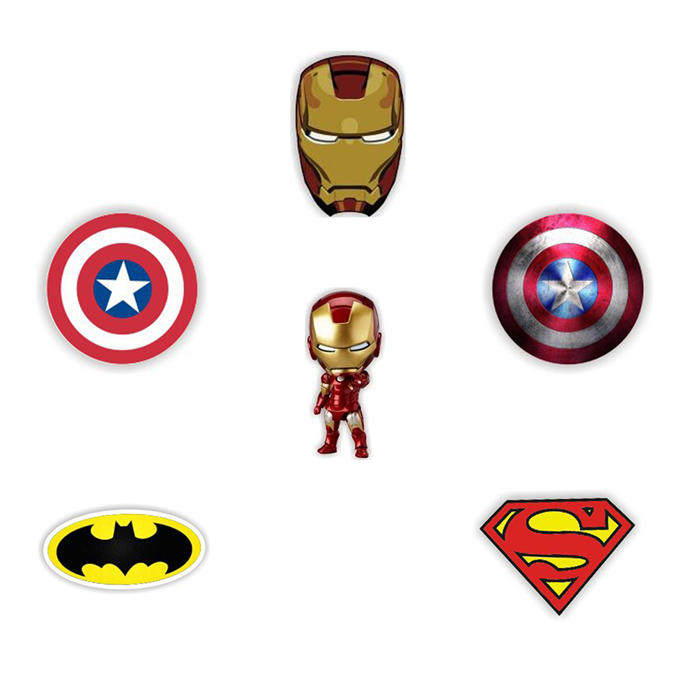 Arts,crafts & Sewing Hard-Working 1pcs Cartoon Super Heros Batman Spider Man Icon Acrylic Brooch Badges Decoration Pin Buttons Backpack Clothes Accessories As Effectively As A Fairy Does