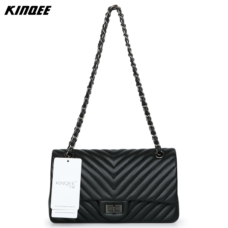 Luxury Handbags Women Bags Designer Famous Brands Purses and Handbags Crossbody Bags  Genuine Sheep Leather Tassel Cover Striped