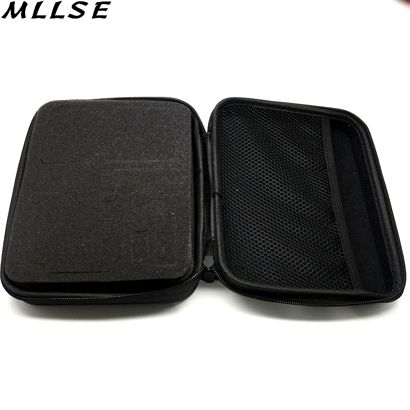 22.5*17.5*6.7CM Medium Size Eva Hard Bag Box for Gopro Hero 2 3 3+  Sjcam SJ4000 Xiaomi Yi Action Camera Gopro Case Accessories