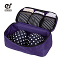 ECOSUSI Women Travel Bag Portable For Travel Bra Underwear Lingerie Bag Cosmetic Makeup Toiletry Wash Underwear Bags
