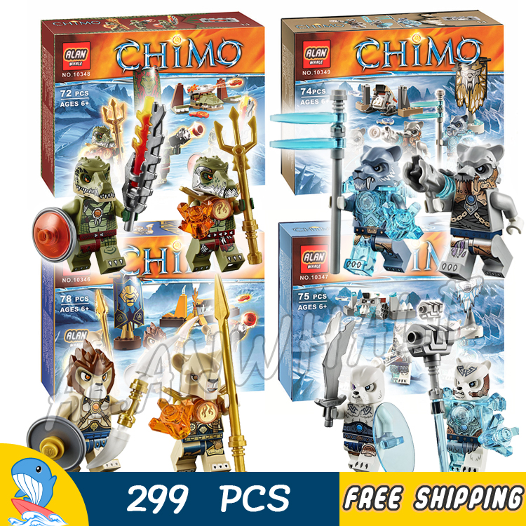 299pcs 4in1 Bela Lion/Ice Bear/Crocodile/Saber-Tooth Tiger Tribe Pack Building Blocks Bricks Compatible With lego saber gholizadeh navid dinparast djadid and hamid reza basseri malaria transmission blocking vaccine candidate in iran