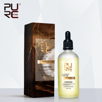 PURC New Arrival 100ml Coconut Oil Make Hair Soft 100 Natural Coconut Oil Skin Hair Care