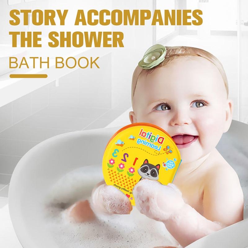 DODOELEPHANT Bath Toys Waterproof Baby Bath Book Playing Bath ...