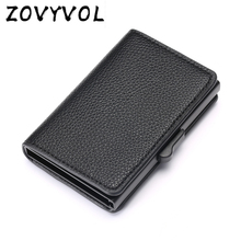 ZOVYVOL  RFID Card Holder Minimalist Wallet High Quality Package Men Business ID Cases Bag 2019 New Style
