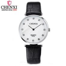 CHENXI Marca Estilo Casual Watch Mujeres Reloj de Señoras de Cuero de Moda Al Aire Libre de Diseño de Lujo de Negocios de Cuarzo Relojes Mujer