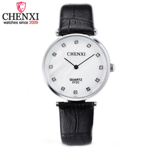 CHENXI Model Informal Watch Fashion Ladies Wristwatch Style Out of doors Girls Leather-based Luxurious Designer Enterprise Quartz Watches Feminine