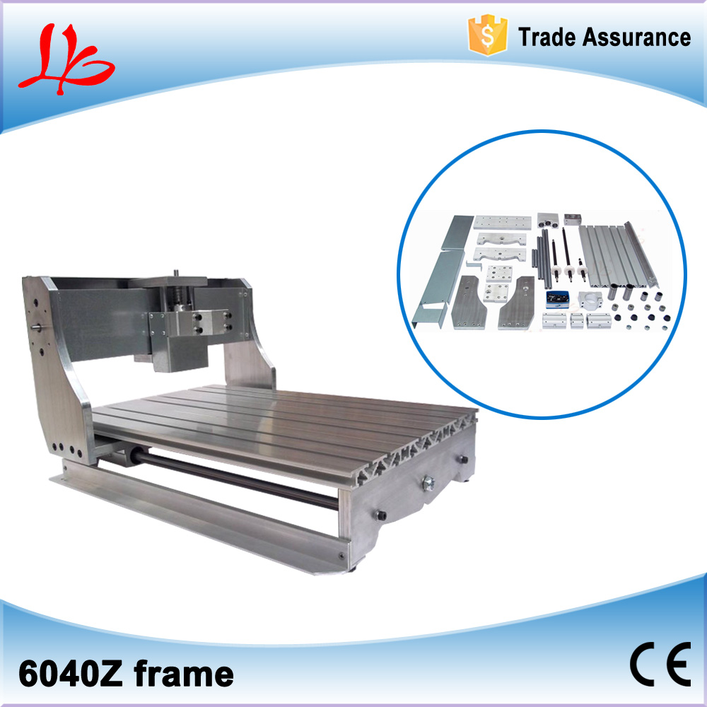 Ball screw CNC 6040 bed frame parts with high precision for DIY CNC 6040 Engraving Machine