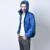 2016 New Arrival Homens Inverno Sólida Casaco Masculino Pato Branco Para Baixo Moda Jaqueta Solta Homens Outwear Parkas Com Capuz Multicolor