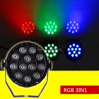 Free Shipping 12x3W 3in1 Rgw Led Par Light With DMX512 Disco DJ Party Lighting Christmas Decoration