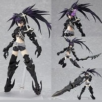 Japan Anime Action Figure Black Rock Shooter INSANE BLK Figma SP 041 15cm PVC Model Collectible Cool Sexy Girl Doll Brand New