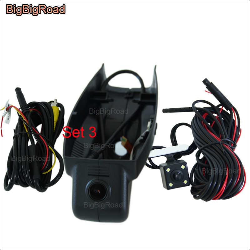 Bigbigroad Wifi Ô Tô Đầu Ghi Hình Ghi Dash Camera Cho Xe BMW 3 5 7 Series F10 Z4 E9 750Li X3 X5 x6 E61 535d 2008 2009 2010 2011