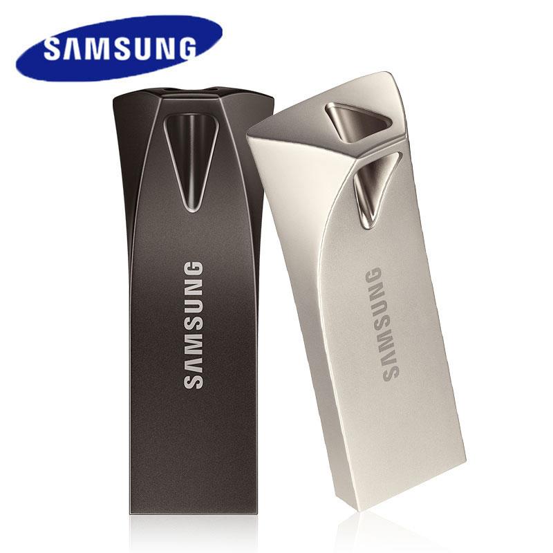 SAMSUNG 64GB USB 3.1 Flash Drive 256GB Pendrive 128GB 300MB/s Metal Flash Memory Stick 32GB 200MB/s Mini U Disk For PC/Tablet/TV