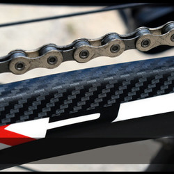 Bicycle Stickers MTB Bike Chain stay Frame Scratch Protector Bicycle Chain Anti-Scratch Protective Sticker Paste