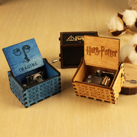 Creative Gifts For Spot Vintage Wooden Handicraft Music Box