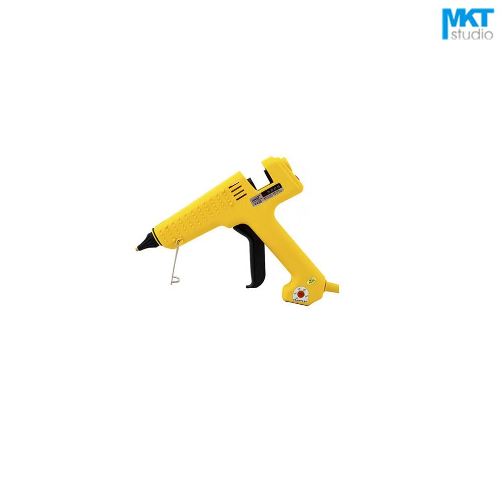 Extrator para 11mm de Cola em Bastão Amarelo W-temperatura Constante Elétrica Thermo Aquecimento Hot Melt Glue Gun Pistol 1 Pcs 200