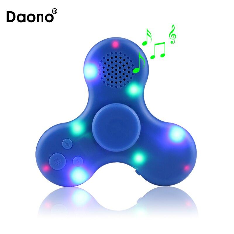 Colirful свет ручной Spinner высокое Скорость Spinner MP3-плееры одной рукой декомпрессии фокус гироскопа с Динамик анти-стресс Игрушечные лошадки