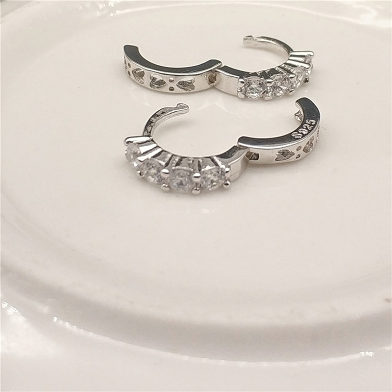 0e2f51aae SHDEDE Small Hoop Earrings Fashion Jewelry For Women CZ Crystal from Swarovski  Party Lady Accessories +*WHEK109-in Hoop Earrings from Jewelry & Accessories  ...