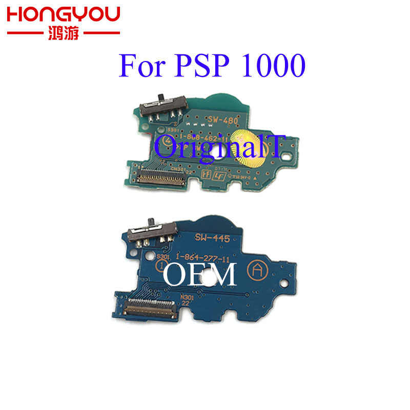 Per PSP1000 PSP 1000 Caricatore di Potere Originale Bordo Interruttore ON OFF Interruttore PCB Board di Ricambio