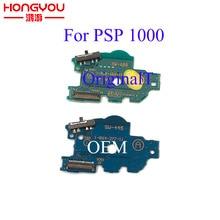 Için PSP1000 PSP 1000 orijinal güç şarj cihazı anahtarlama paneli kapalı anahtarı PCB kartı değiştirme