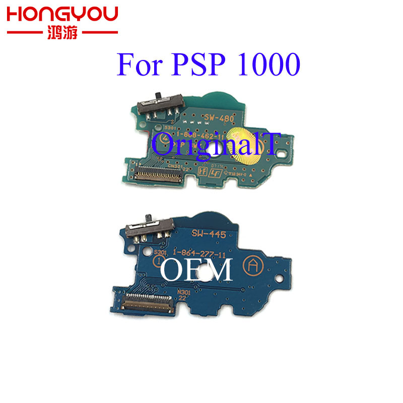 For PSP1000 PSP 1000 Original Power Charger Switch Board ON OFF Switch PCB Board Replacement