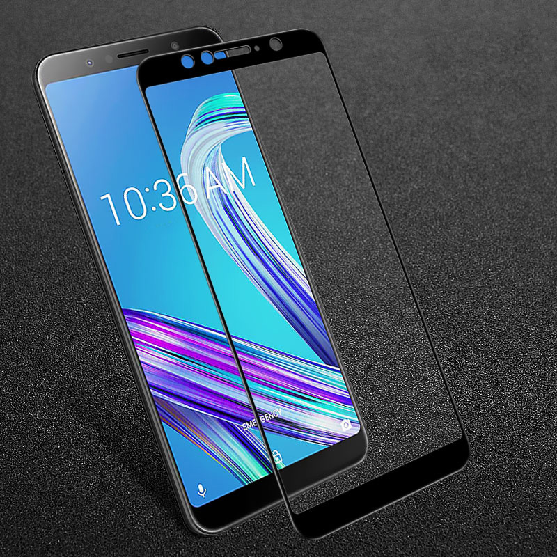 For Asus ZenFone Max Pro M1 ZB602KL Case Tempered Glass Film 9H Screen Protector Cover On ZenFone Max Pro M1 ZB602KL Funda Coque