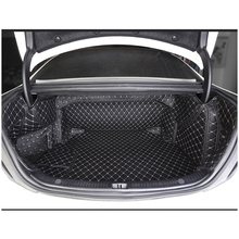Lsrtw2017 волокна кожи багажник автомобиля коврик для mercedes benz e200 e300 e320 e400 2009-2019 2018 2017 2016 2015 2014 2013 w212 w213