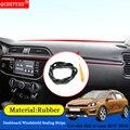 Авто-Стайлинг резиновые анти-звуконепроницаемые не пропускающие шума пыленепроницаемые автомобильные приборные панели лобовое стекло уп...