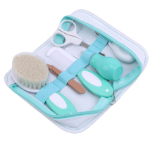 Детский набор для ухода за ногтями и волосами в носу, набор расчесок для новорожденных, набор для ежедневного ухода за новорожденными, инструменты для ухода за новорожденными