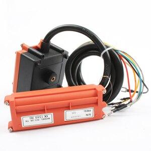 Image 2 - Bezprzewodowy przełącznik przemysłowy pilot wciągnik elektryczny pilot uzwojenia silnik piaskowy sprzęt używany F21 2S