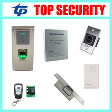 IP65 waterproof fingerprint access control system free software TCP/IP door access controller MA300
