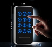 Free shipping Touch Keypad Password RFID Card Key Metal Digital Electronic Cabinet locker lock 118PW