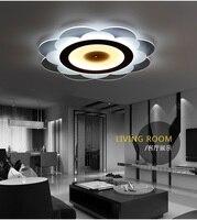 Тонкий Подсолнечник акрил Светодиодная лампа потолка теплый домашний Внутреннее освещение коммерческих украшения потолочный светильник