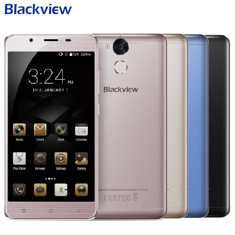 Original Blackview P2 lite 4G Mobile Phone 5 5 FHD 3GB RAM 32GB ROM MTK6753 Octa