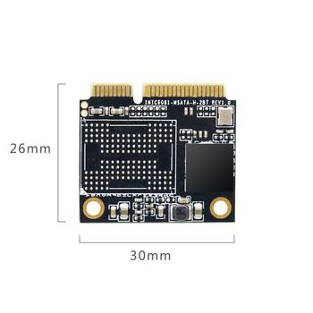KingSpec SSD HDD Half mSATA 64GB SSD 120GB 240GB SSD 500GB SSD Mini SATA Internal Solid State Disk for Computer