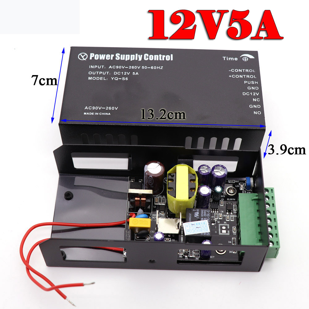 DC 12V 3A 5A For RFID Fingerprint Access Control Access Control System Switching Power Supply 110~260V