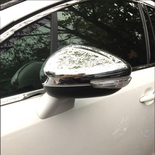 10P Chrome Side Mirror Door Handle Covers Trims For 2003-2008 Mazda 6 Sedan