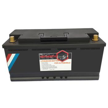 110-20 12V 110AH moto Car Lead acid Battery CCA 2600A LiFePo4 Lithium iron Battery With BMS Board 2000 times Life