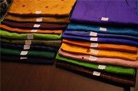 Silk dupion fabric chinese traditional dress coat long gown dress Indian women dress fabric big sale