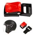 Motorrad Schwarz Helme Geschwindigkeit Clip Schnalle Kinnriemen Schnelle Release Schnalle Drop verschiffen-in Helme aus Kraftfahrzeuge und Motorräder bei