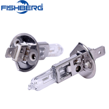 4pcs H1 Halogen Bulb White 12V 55W 4500K Clear Glass Car HeadLight Auto Light XENON Fog Lamp Car Lamps