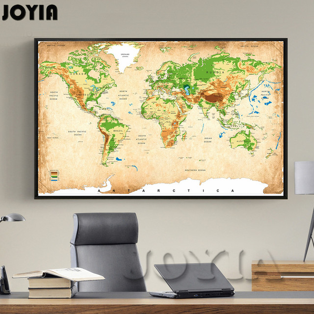 Famous Wall Map Art Pictures Inspiration - Wall Art Design ...