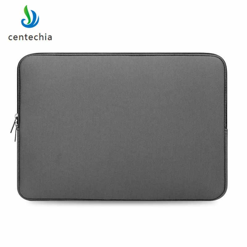 Cała sprzedaż 1PC Laptop wodoodporne torby notebooka etui na lenovo Macbook Air 11 12 13 14 15 15.6 Cal pokrywa Pro torba na zamek błyskawiczny