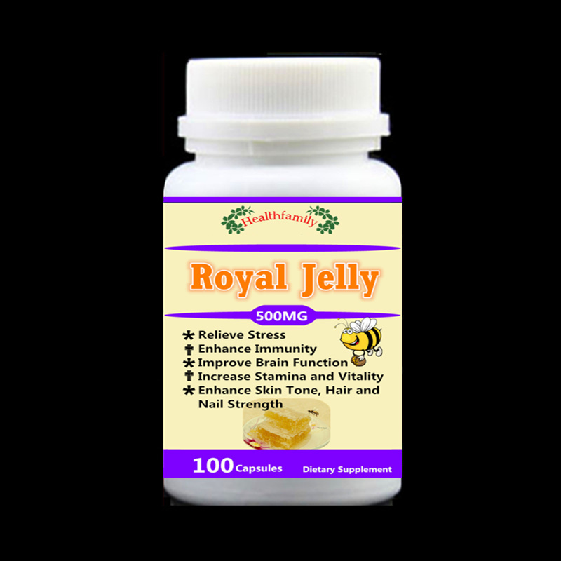 Royal Jelly For Relieve stress improve brain fuction enhance immunity enhance skin tone hair and nail strength,100pcs/bottle dr ripudaman singh mrs arihant kaur bhalla and er indpreet kaur stress among bank employees