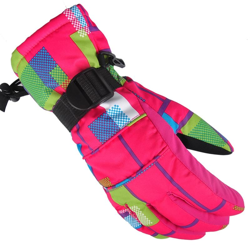 Prix pour Femmes hommes chaud conduite longue gants de neige d'hiver mitaines snowborading luvas de inverno preuve de l'eau ski gants guantes hombre